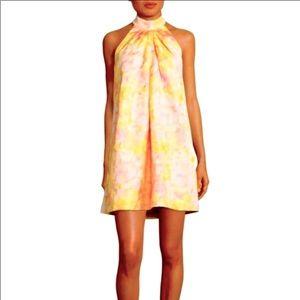 Belle Badgley Mischka  Halter Dress